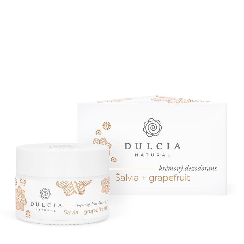 Krémový deodorant šalvěj a grapefruit